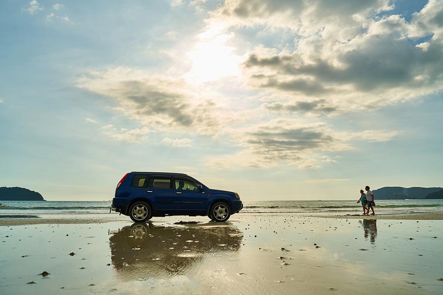 donde guardar llave coche playa