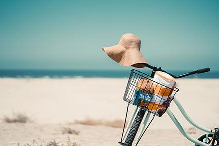 ¿Qué hacemos con la llave del coche en la playa?